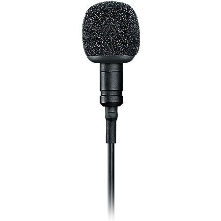 SHURE MVL/A 3.5MM, Micrófono de solapa de condensador, grabación digital de voz de calidad