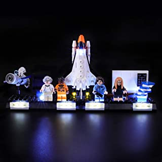 BRIKSMAX Led Lighting Kit for Ideas Women of NASA - Compatible with Lego 21312 Building Blocks Model- Not Include The Lego Set