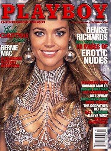 Playboy Magazine - December 2004 - Denise Richards