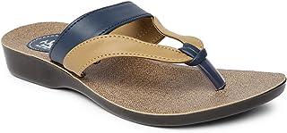 PARAGON Women's Brown Solea Flip-Flops
