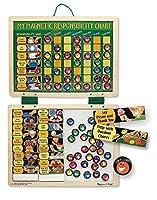 My Magnetic Responsibility Chart + FREE Melissa & Doug Scratch Art Mini-Pad Bundle [37891] [並行輸入品]