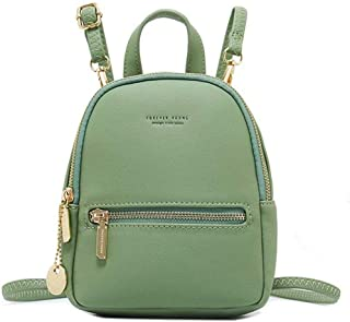 WILSLAT Women's Mini Backpack Purse Fashion Lightweight Leather Travel Small Shoulder Bag