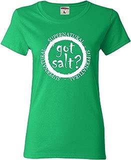 Go All Out Womens Got Salt? Supernatural T-Shirt