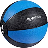 4 kg ball for upper- and lower-body exercises Ideal for classic medicine ball workouts Helps develop core strength, balance, and coordination Sturdy rubber construction; can bounce off hard surfaces Textured finish provides a superior grip 1 year lim...