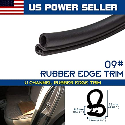10ft Lok Edge Trim Rubber Seal Strip Easy Install Protect Door Window Pinchweld
