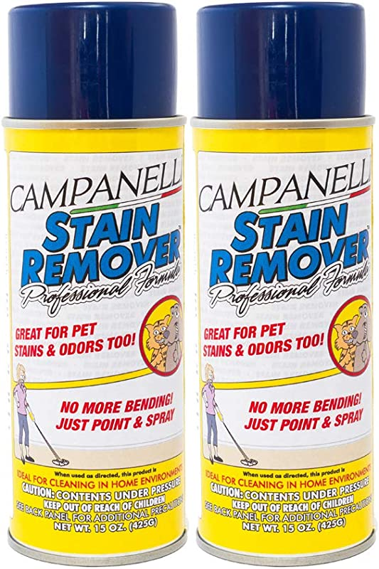 By CAMPANELLI Professional Formula Stain Remover Aerosol 2 Pack