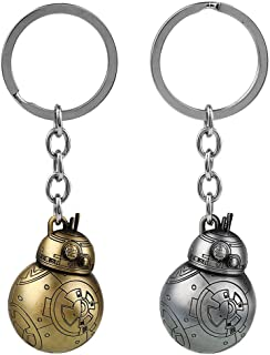 Star Wars The Force Awakens BB-8 BB8 Figure Keychain Keyring Toy Droid Robot Figure Gift