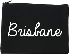Brisbane Australia Script Chest Cosmetic Makeup Bag