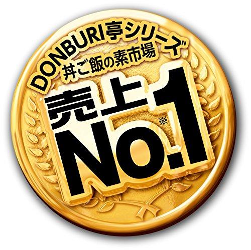 グリコDONBURI亭中華丼210g×10個