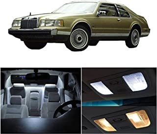 cciyu Replacement fit for Lincoln Town Car 1998-2011 Interior LED Light Package Kit 14 Pack White Light