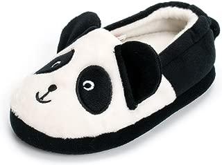 Toddler Boy's Premium Soft Plush Slippers Cartoon Warm Winter House Shoes