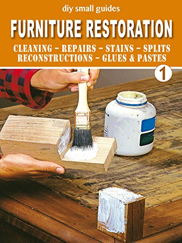 Furniture Restoration - 1: Cleaning - Repairs - Stains - Splits - Reconstructions - Glues & Pastes (diy small guides) (English Edition)