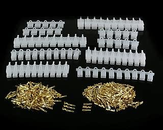 380 Piezas 2.8mm Paso 2 3 4 6 Pines Macho Hembra Clavija de Enchufe de la Carcasa Header Crimp Wire Terminals Conector Surtido Kit