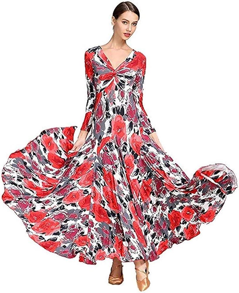 Zjx Ballroom Dance Dresses for Women,Ballroom Dress,Ballroom Dance dressTango Dress