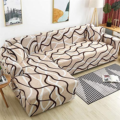 Cubiertas del sofá de la esquina para la sala de estar deslochueros elásticos de la cubierta del sofá del sofá del sofá de la toalla de la toalla de la forma de la toilla longue (color: color 24, espe