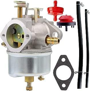 HOOAI 632334A Carburetor for Tecumseh 632370A 632110 632111 632334 632370 632536 640105 Replaces Tecumseh 632334a Carburetor