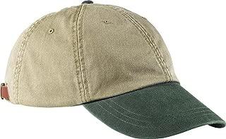 Adams Two-Tone Khaki Optimum Cap LP102 - Khaki/ Forest Green_One
