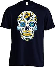 America's Finest Apparel Los Angeles Football LAC Sugar Skull Shirt - Men's