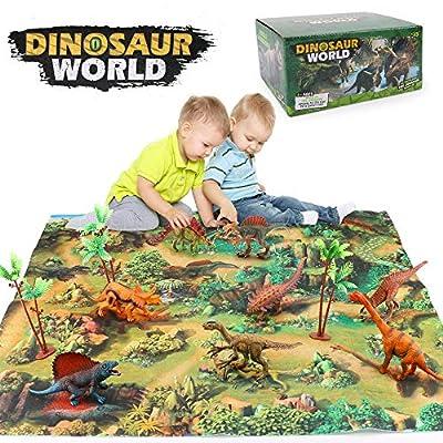 SU KE DA Dinosaurs Set Toys by SU KE DA