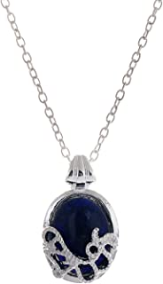 The Vampire Diaries Daywalking Katherine Necklace Pendant Charm Necklace-Royal Blue (01003590)