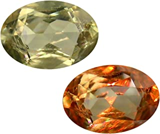 Deluxe Gems 3.12 ct Oval Cut (11 x 8 mm) Unheated/Untreated Turkish Color Change Diaspore Natural Loose Gemstone