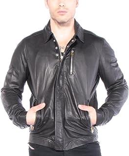 Men's Leather Jacket L-HEIKO-2