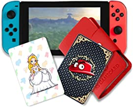 NFC Tag Game Cards for Super Mario Odyssey Switch - 10pcs with Cards Holder