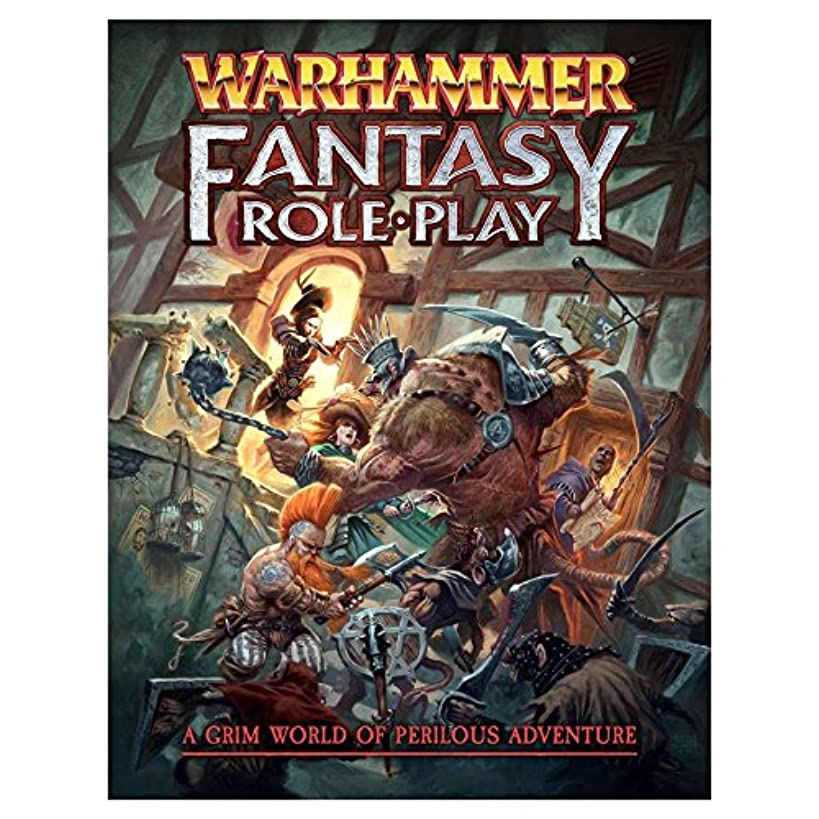 Warhammer : Fantasy 4th Ed. Rule-Book