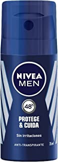 NIVEA Desodorante Spray Protege & Cuida Men - 35 ml