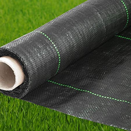 Amazon Com Premium Landscape Fabric Heavy Duty 3 X 300 Ft 4 1oz 140gsm Black Woven Weed Barrier Landscape Fabric Garden Fabric Roll Weedblock For Garden Flower Bed Driveway Drainage And
