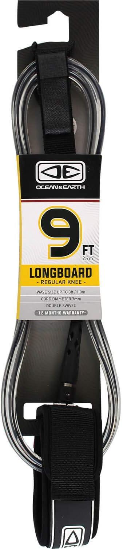 Classic Ocean Earth National uniform free shipping Regular Moulded Black Leash Surfboard - Longboard