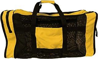 Perfeclan Mesh Duffel Gear Bag Shoulder Bag for Scuba Diving Snorkeling Swimming