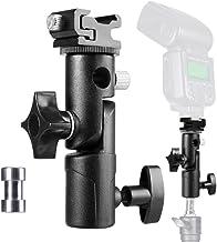 Camera Flash Speedlite Mount Flash Stand Umbrella Holder Shoe Mount Swive Light Stand Flash Bracket Flash Adapter Compatib...