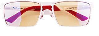 Arozzi Visione VX-800 Computer Gaming Glasses - Anti-Glare, UV and Blue Light Protection, Eye Strain Relief, Comfortable G...