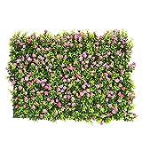 WEISHAN Paneles Artificiales de Betwood, Cerca Topiary Hedge Plant, Faux Ivy Vine Hoja Decoración para decoración al Aire Libre Jardín Yard Famoso by (Color : B)