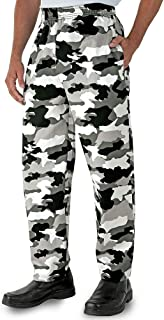 Men's Camouflage Print Chef Pant (XS-3X)