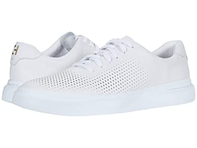 Cole Haan Grandpro Rally Laser Cut (White) Men