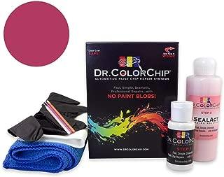 Dr. ColorChip Ford Fiesta Automobile Paint - Bright Magenta Metallic L7 - Road Rash Kit