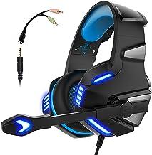 Audífonos Gamer con Micrófono para PS4 Xbox One PC,