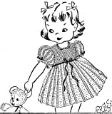 Child's Crochet Dress Pattern for the 2 or 3 Year Old