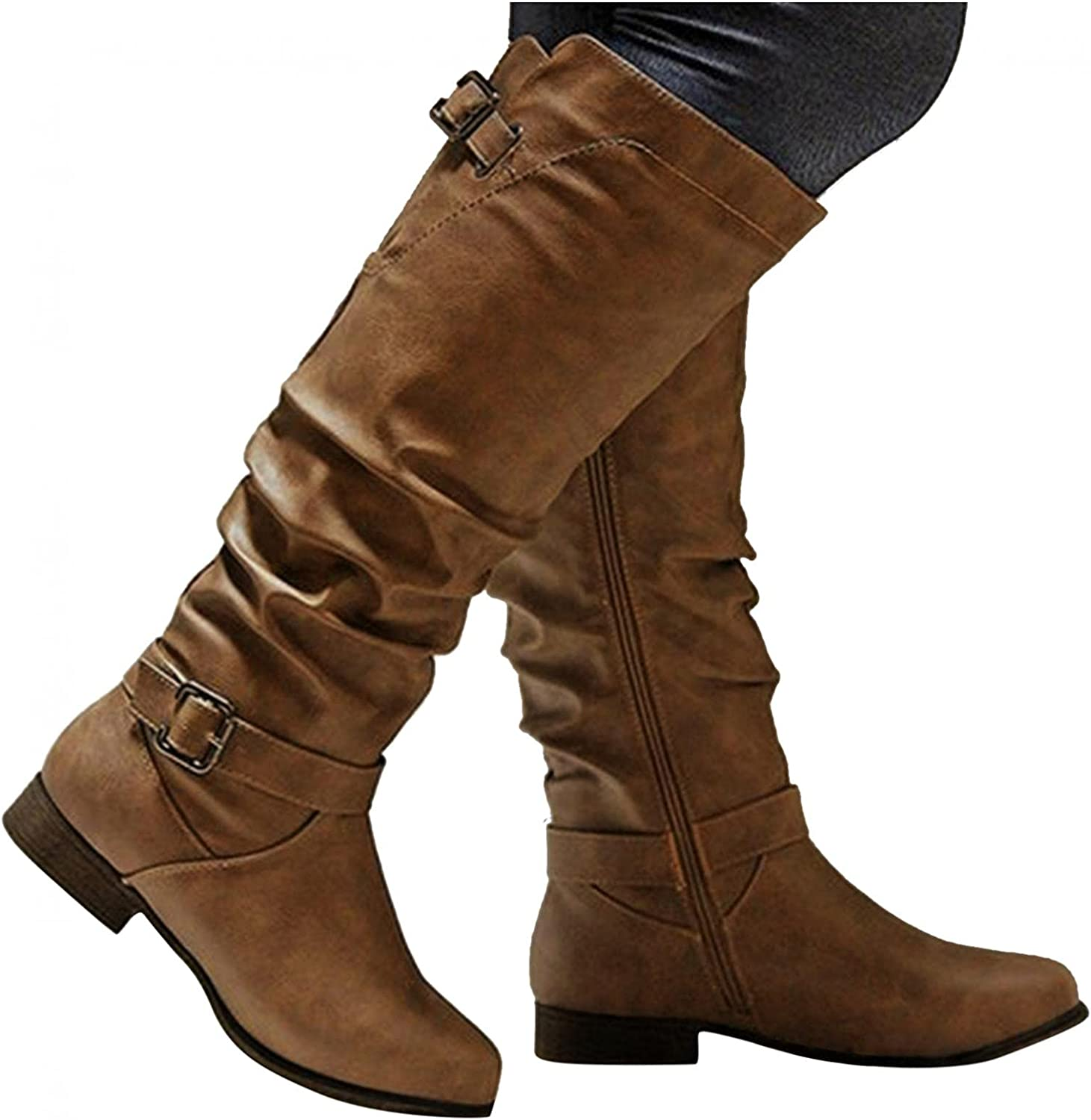 Cowboy Boots for Women Knee High Casual Po Ranking TOP3 Low Be super welcome Heel Womens