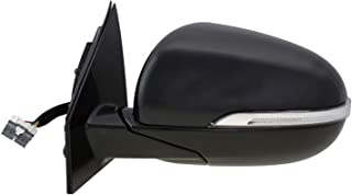 Left Side Mirror for 16-19 Kia Sorento Drivers Power Heated Signal 87610C6080