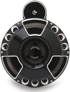 Arlen Ness 70-200 Black Billet Horn Kit (Deep/Cut)