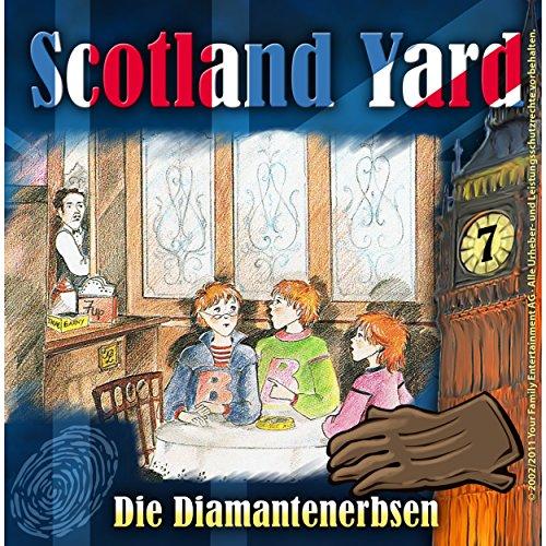 Die Diamantenerbsen (Scotland Yard 7) Titelbild