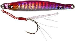 グローリーフィッシュ(Glory Fish) メタルジグ イワシジグ タングステン 40g LU-056 ピンクホロ