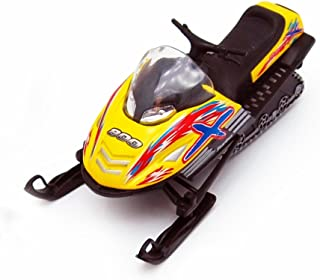 Snow Turbo, Yellow - Kinsmart 5103D - 5.25