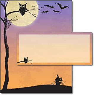 Halloween Who Letterhead & Envelopes - 40 Sets
