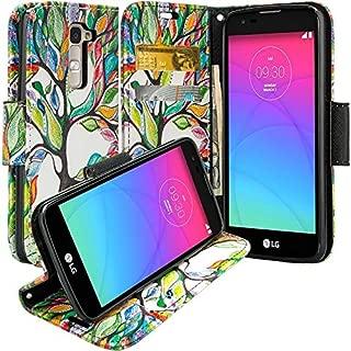 lg k10 wallet phone case