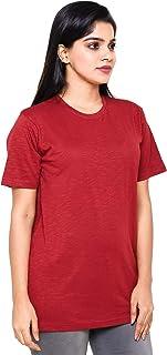 EASY 2 WEAR ® Women Loose Home WEAR T-Shirt (Size S to 5XL) Maroon