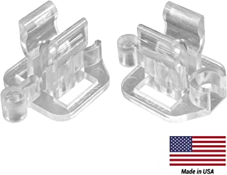 Commercial Christmas Hardware Adjustable Rope Light Clips (100 Pack)